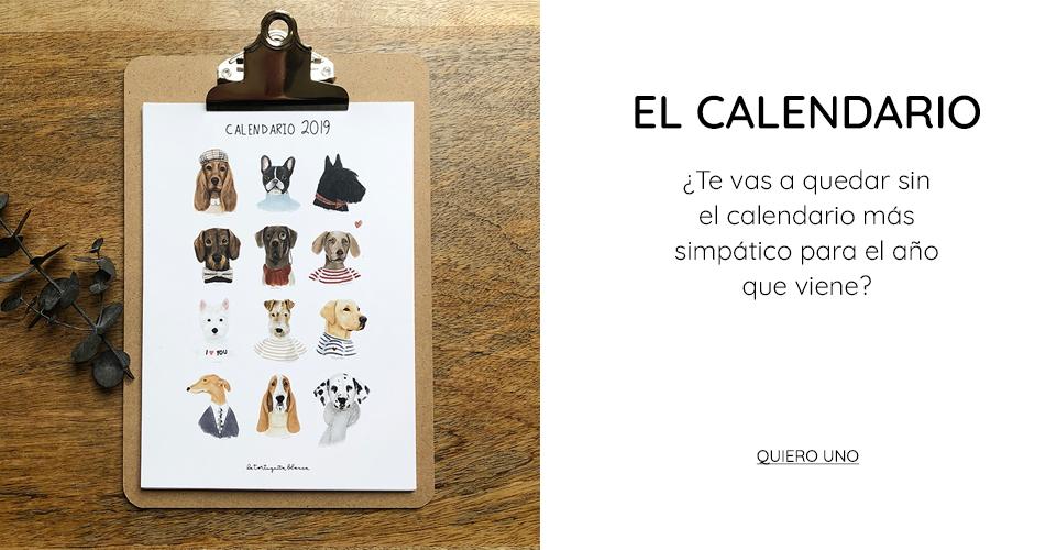 CALENDARIO 2019 BY LA TORTUGUITA BLANCA