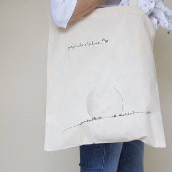 bolsa de tela moon