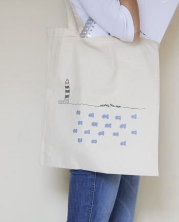 tote bag under the sea