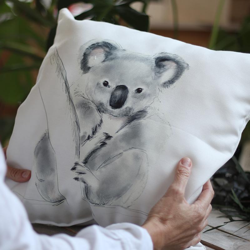 cojin koala cuadrado
