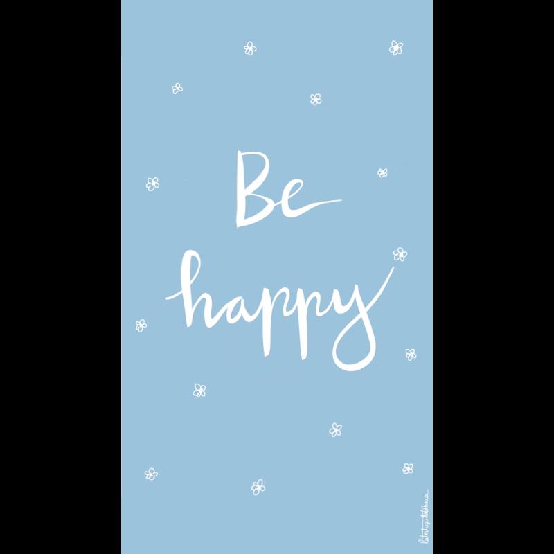 Fondo de pantalla Be Happy