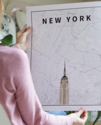 Coordenadas Ilustradas New York