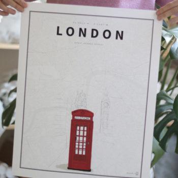 London Coordenadas Ilustradas