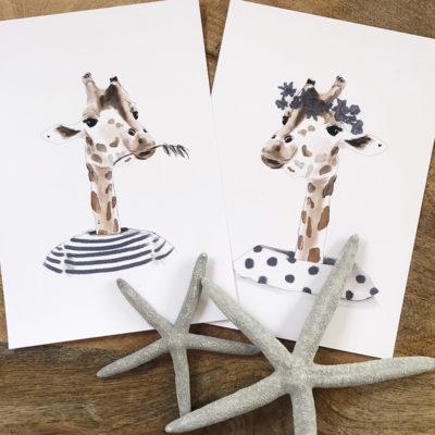 lord and lady jirafa marineros