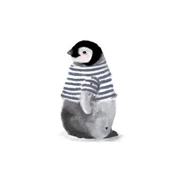 Pinguino marinero