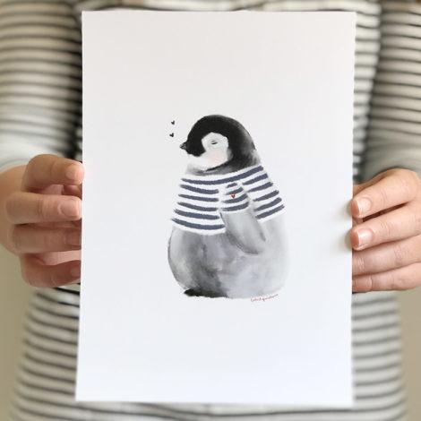 Pinguino Bolita marinero