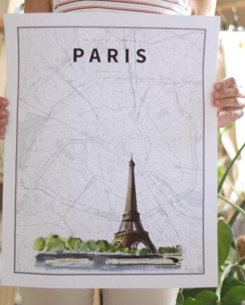 Coordenadas Ilustradas. París.