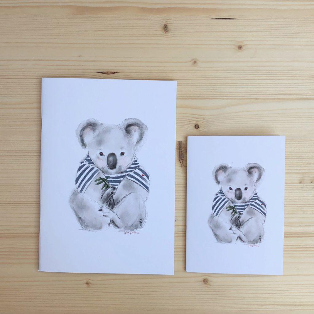 libreta koala marinero