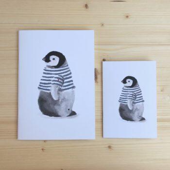 libreta pingüino PINGU marinero