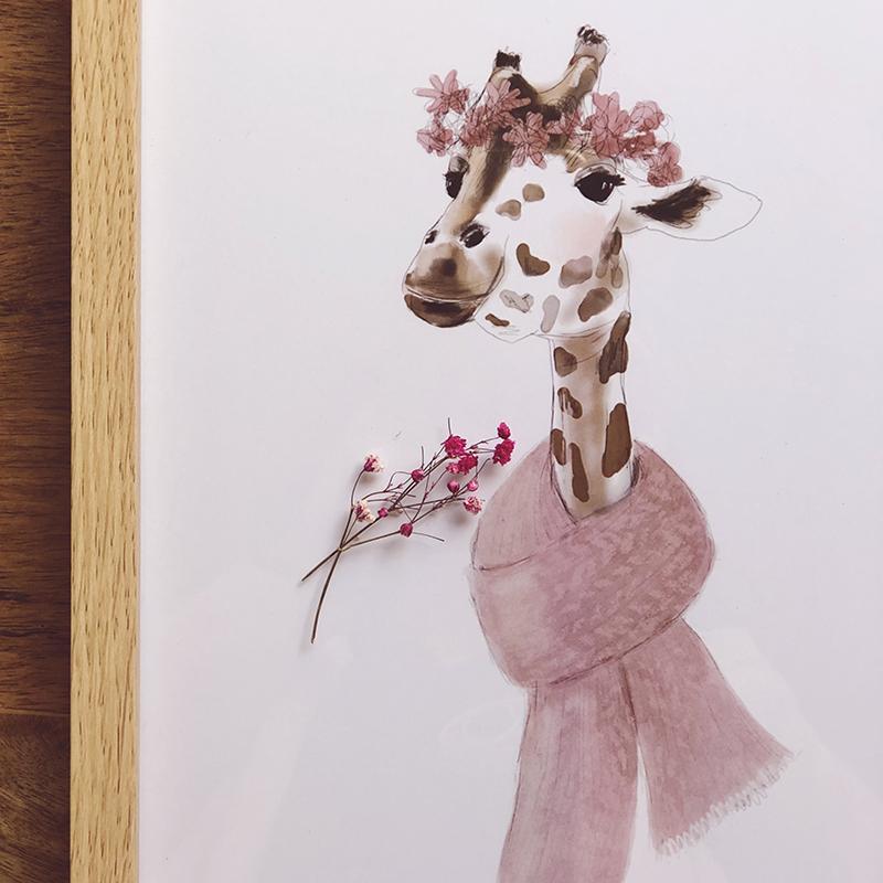 Lady jirafa contra el cáncer