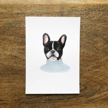 bulldog frances by la tortuguita blanca