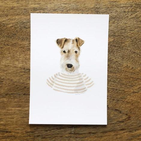 fox terrier by la tortuguita blanca