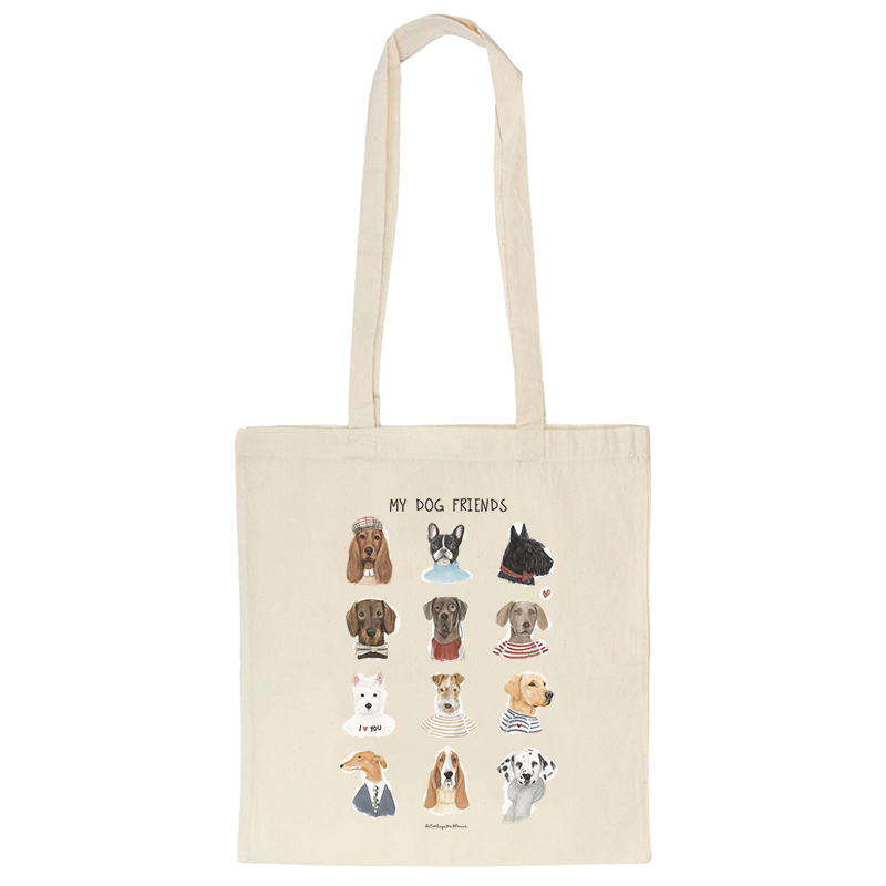 TOTE-BAG-MY-DOG-FRIENDS