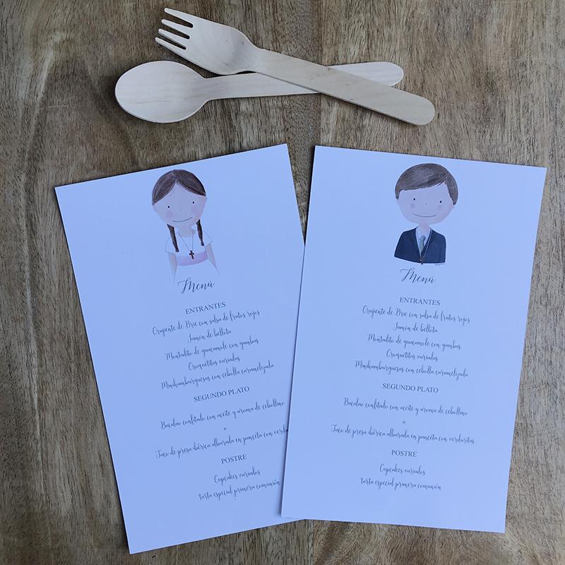 menu olivia y hugo