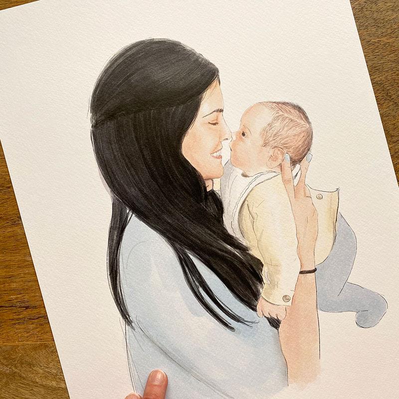 retrato-madre-y-bebe