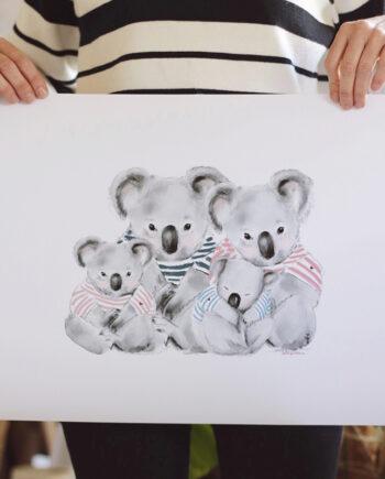 FAMILIA KOALA