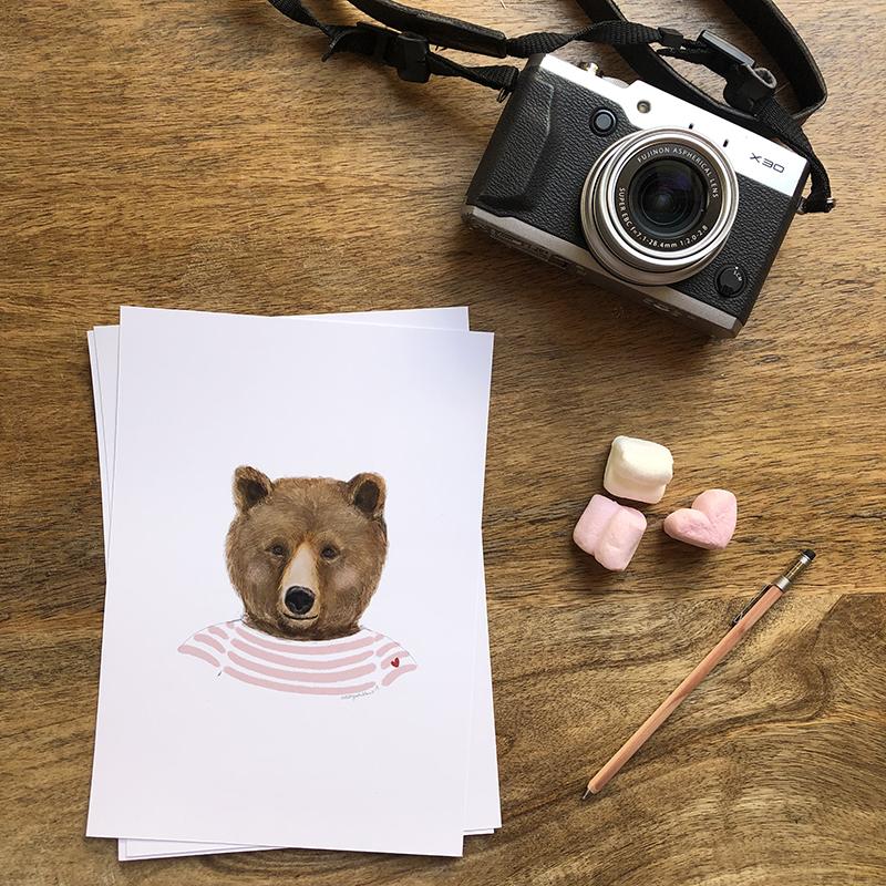 oso marinero rosa 1
