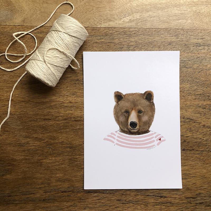 oso marinero rosa 2