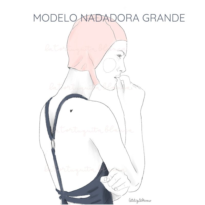 nadadora modelo GRANDE