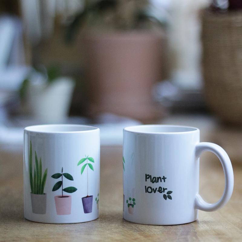 taza cerámica PLANT LOVER