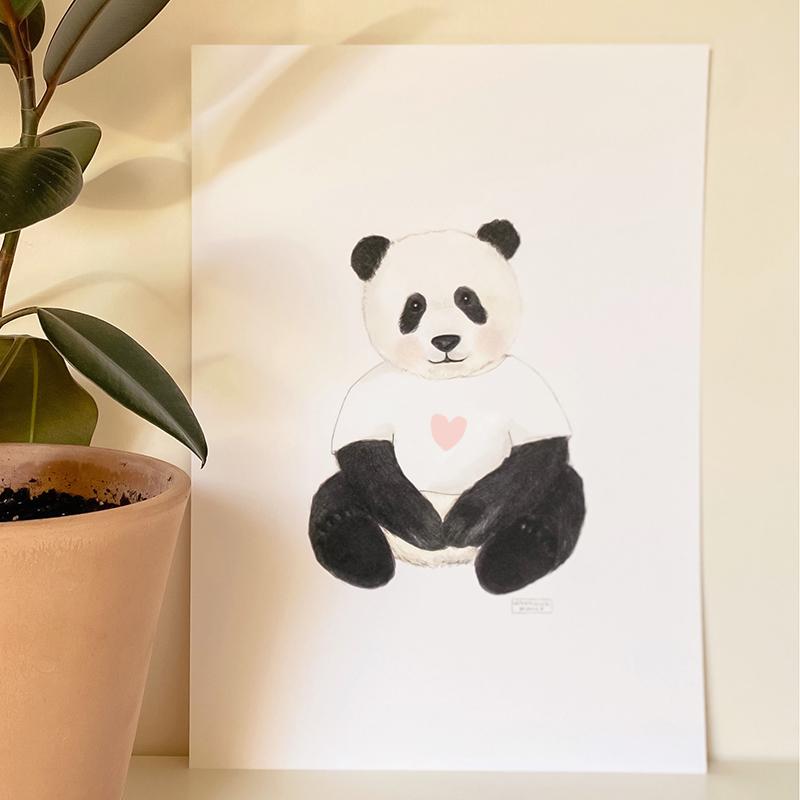 lamina-oso-panda-corazon